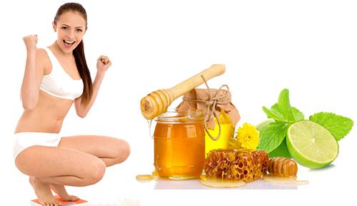Chia sẻ bí quyết giảm cân nhanh bằng chanh và mật ong
