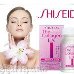 Collagen Shiseido EX Dạng Viên giúp da luôn tươi đẹp trắng sáng