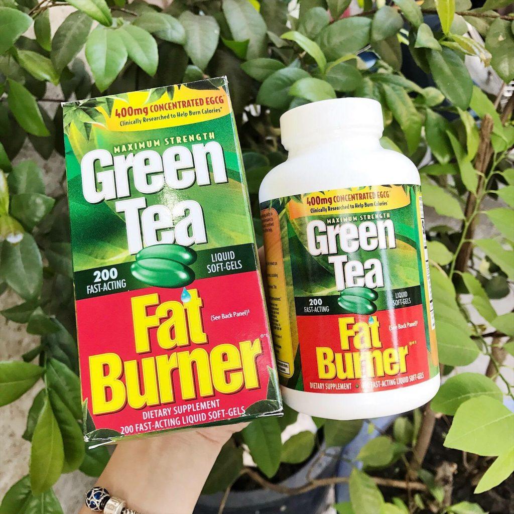 Green tea fat burner giá bao nhiêu - mua ở đâu uy tín chất lượng