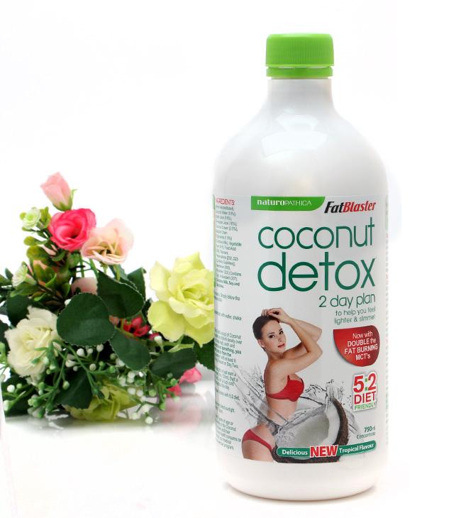 Review về sản phẩm giảm cân Nước uống Coconut Detox