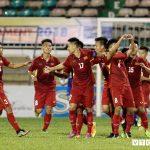 U19 Việt Nam thắng đậm trong ngày đầu ra quân
