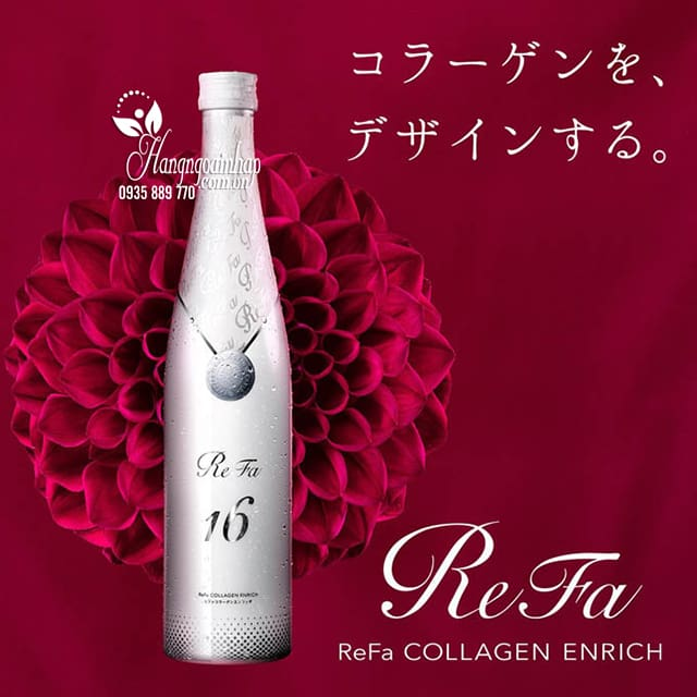 Uống refa collagen dạng nước