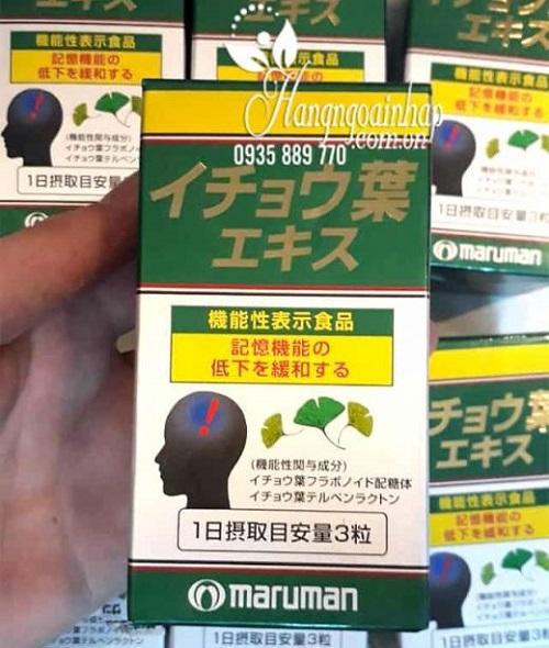 Thuốc bổ não Ginkgo Biloba Maruman của Nhật có tốt không-3