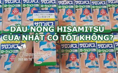 Dầu nóng Hisamitsu của Nhật có tốt không-1