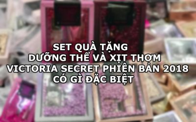 Set dưỡng thể và xịt thơm Victoria Secret-1
