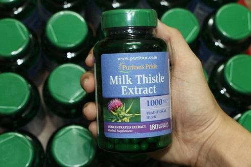 Thuốc bổ gan Milk Thistle Extract có tốt không-3