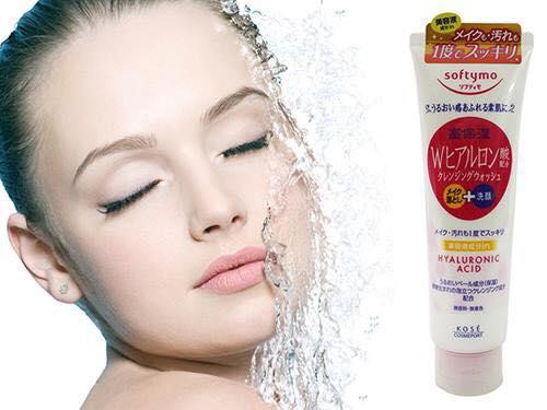 Sữa rửa mặt Kose Softymo Hyaluronic Acid 190g giá bao nhiêu? 2