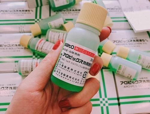 Hướng dẫn sử dụng thuốc mọc tóc Sato-1