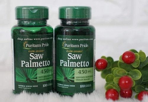 Viên uống Saw Palmetto 450mg có tốt không-1