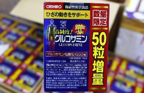 Glucosamine Orihiro thật và giả phân biệt như thế nào?-3