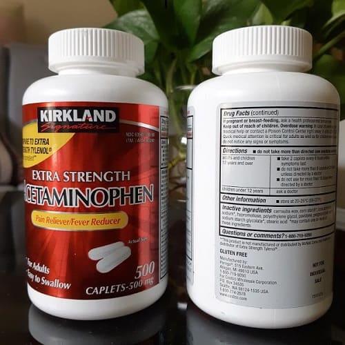 Tác dụng của thuốc Acetaminophen 500mg là gì-3