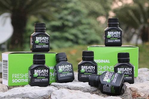 Viên uống thơm miệng Breath Pearls review-1