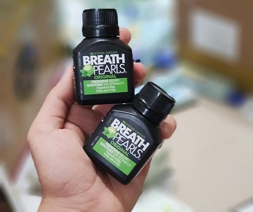 Viên uống thơm miệng Breath Pearls review-2