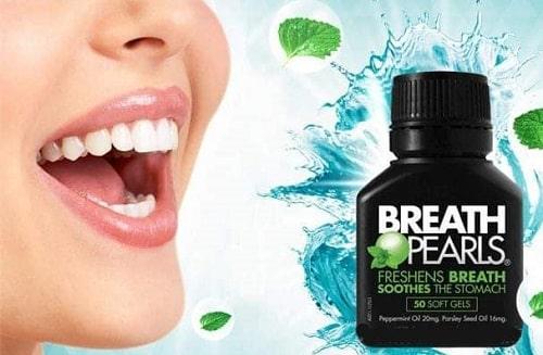 Viên uống thơm miệng Breath Pearls review-5