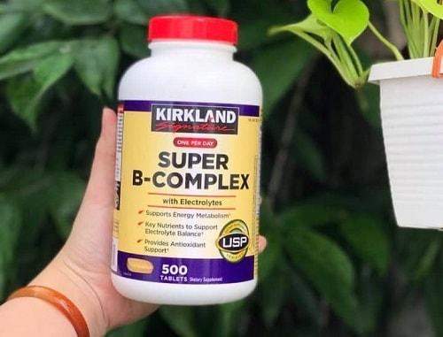 Viên uống Kirkland Super B-Complex with Electrolytes review-4