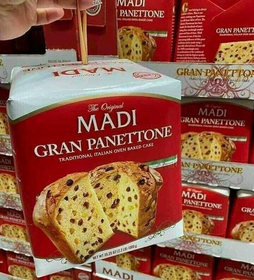 Bánh mì Madi Gran Panettone 1kg của Ý review-1