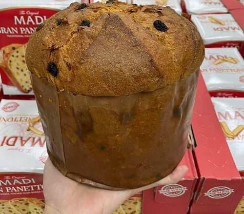 Bánh mì Madi Gran Panettone 1kg của Ý review-2