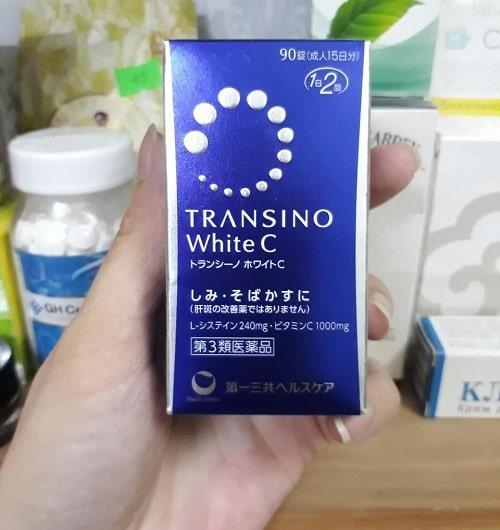 Viên uống trị nám Transino White C có tốt không?-2