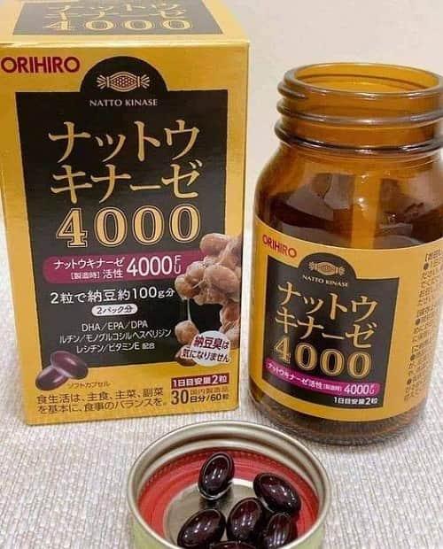 Giá thuốc Nattokinase 4000FU Orihiro bao nhiêu?-2