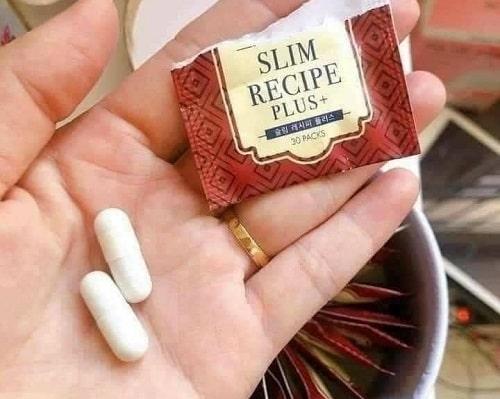 Cách sử dụng thuốc giảm cân Slim Recipe Plus+-3
