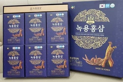 Review nước hồng sâm Hàn Quốc Gaesung-2