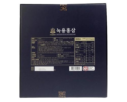 Review nước hồng sâm Hàn Quốc Gaesung-3