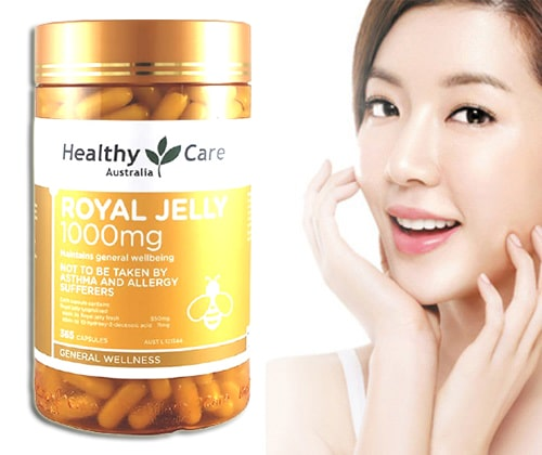 Sữa ong chúa Royal Jelly 1000mg review-5
