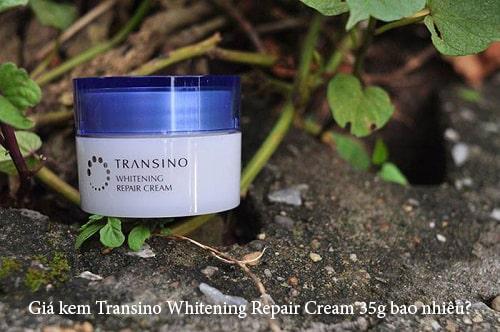 Giá kem Transino Whitening Repair Cream 35g bao nhiêu?-1