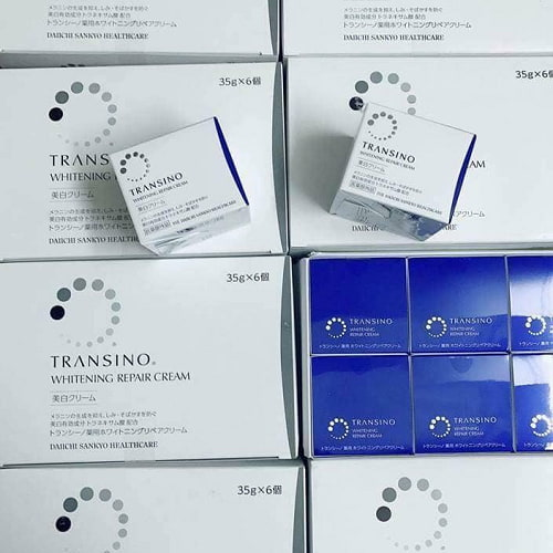 Giá kem Transino Whitening Repair Cream 35g bao nhiêu?-3