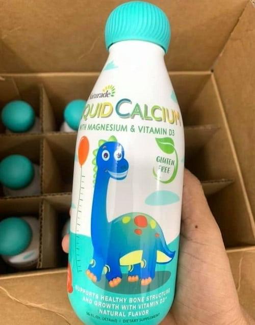 Canxi sữa Naturade Liquid Calcium có tốt không?-2