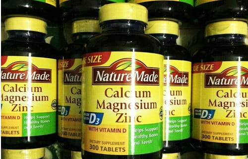 Viên uống Nature Made Calcium Magnesium Zinc D3 review-1