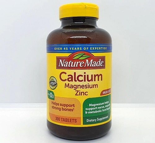 Viên uống Nature Made Calcium Magnesium Zinc D3 review-3