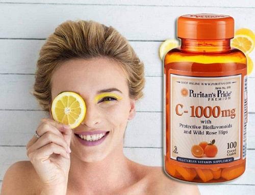 Viên uống Puritan's Pride Vitamin C 1000mg review-5