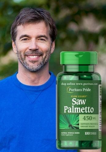 Thuốc Puritan's Pride Saw Palmetto có tác dụng gì?-3